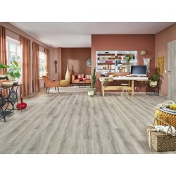 JOKA Delux City V4 431 ND 4804-Oak rift grey 1-Stab AS NormalDiele Laminatboden mit DUO-Connect-System